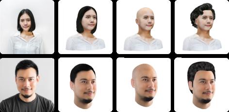 Head 2.0 avatars
